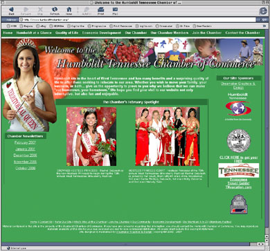 West Tennessee Strawberry Festival website